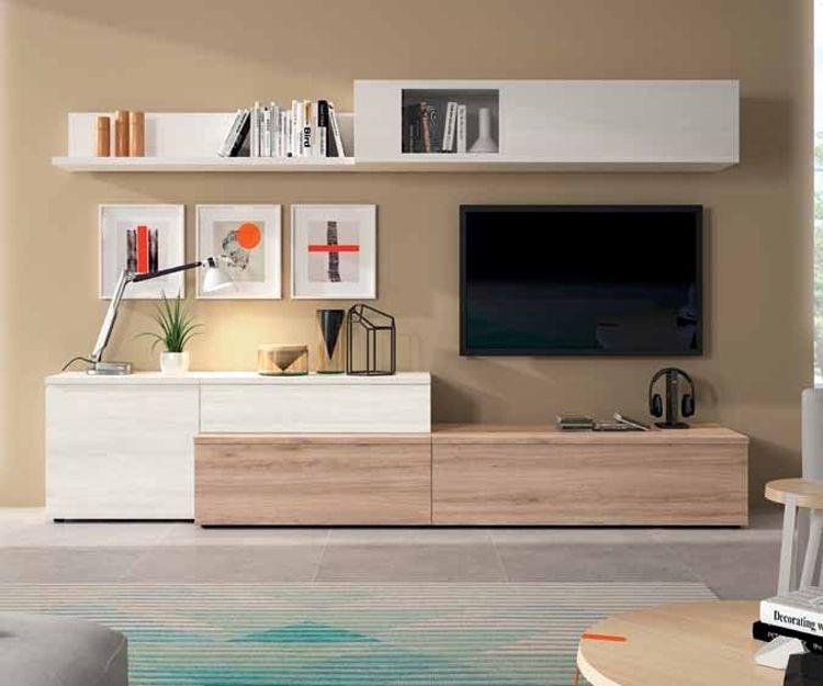 Muebles de salón en Las Palmas, serie Neo