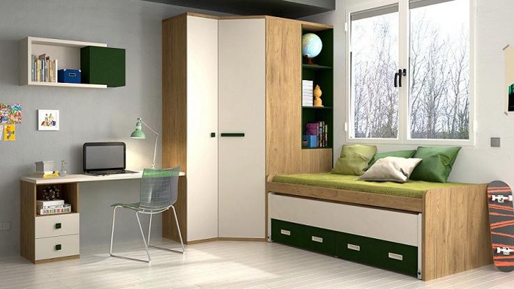 Dormitorio infantil y juvenil en Las Palmas