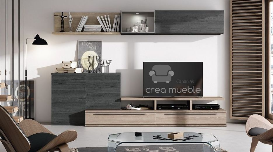 Salón Serie BOLD: Productos de Crea Mueble