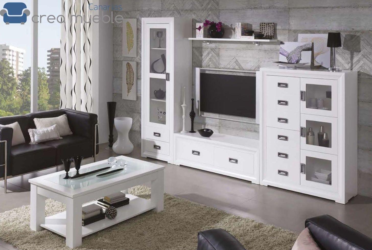 Salón Rústico Serie SIENA: Productos de Crea Mueble