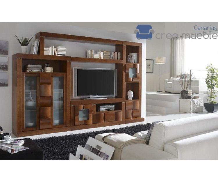 Mueble de salón serie Soledad