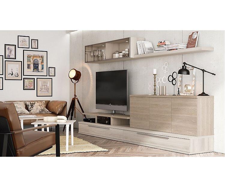 Mueble de salón serie Cubika