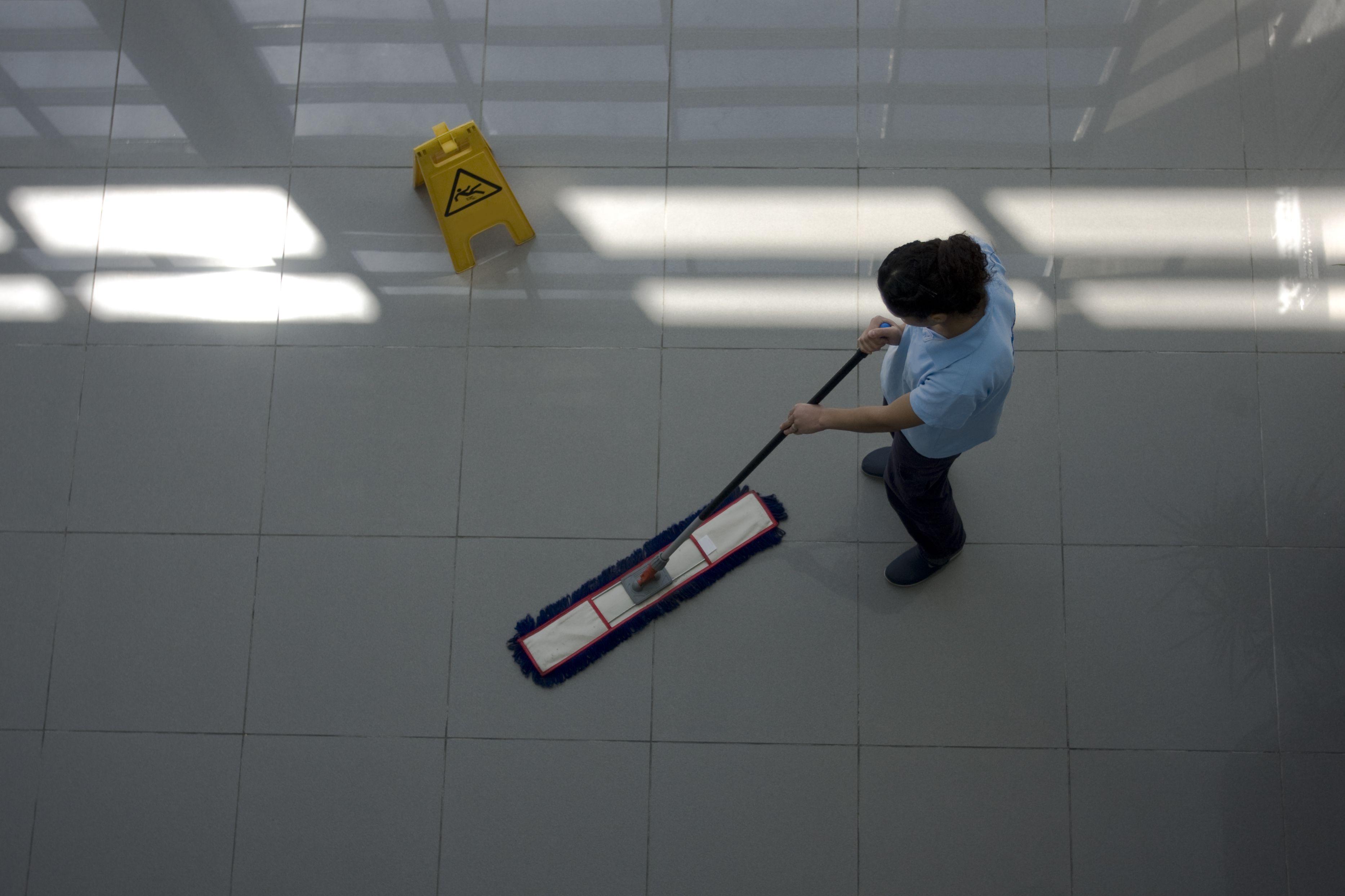 Mantenimiento de limpieza de empresas