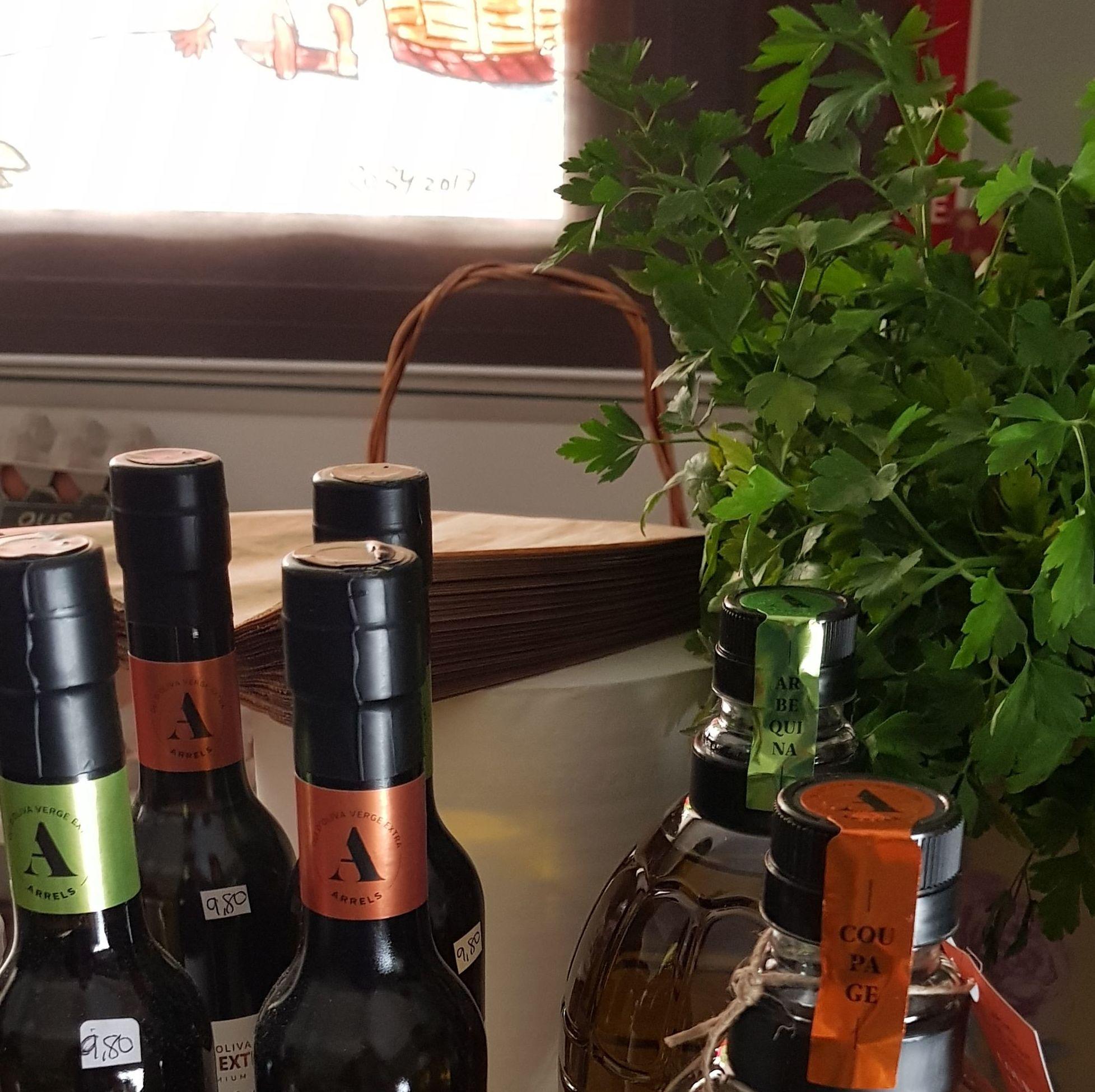 Aceite y Vinagre: Productos de Nuestra Tierra de Gust i Colors