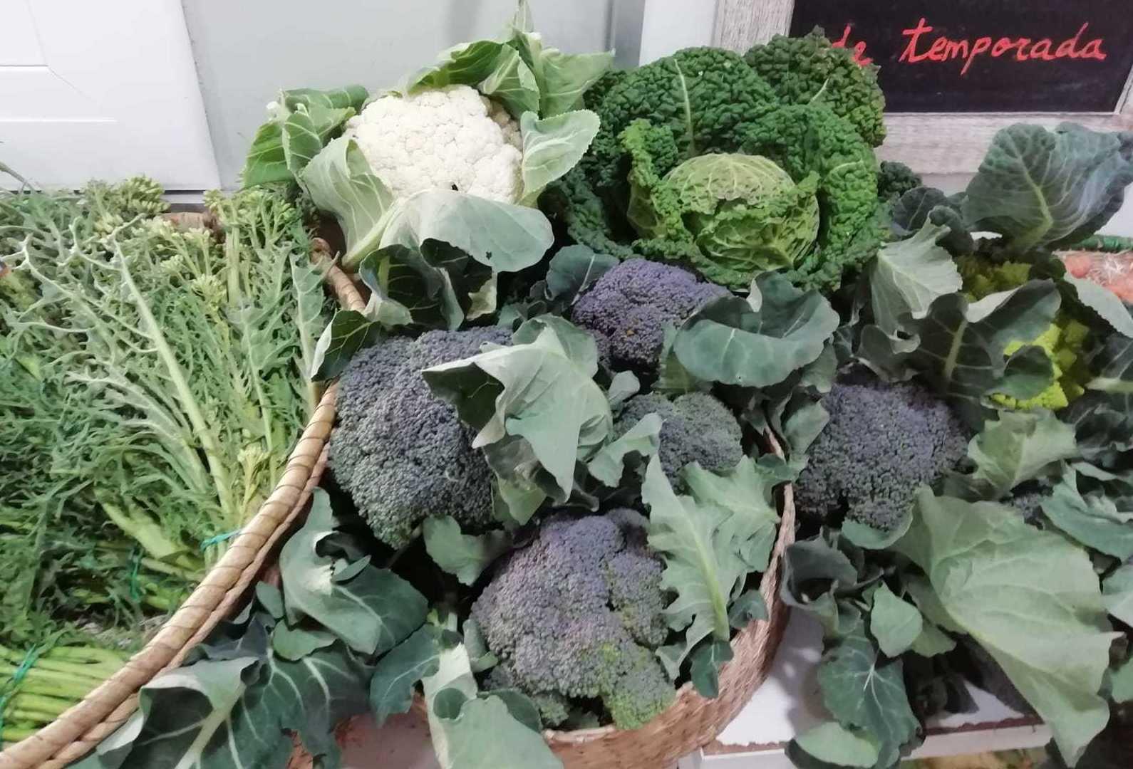 Verduras Temporada en Sitges