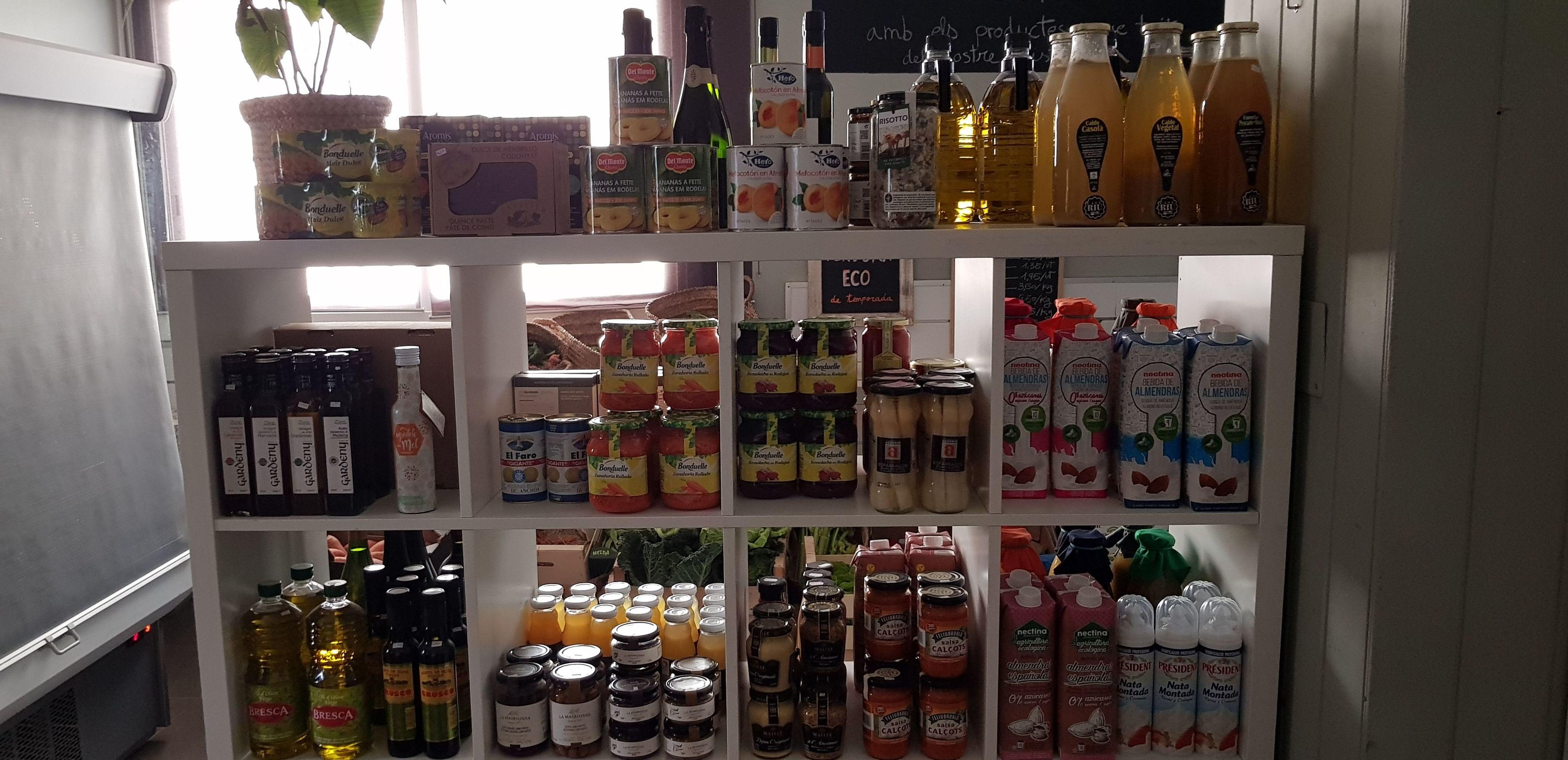 Foto 34 de Tienda de alimentos ecológicos en  | Gust i Colors