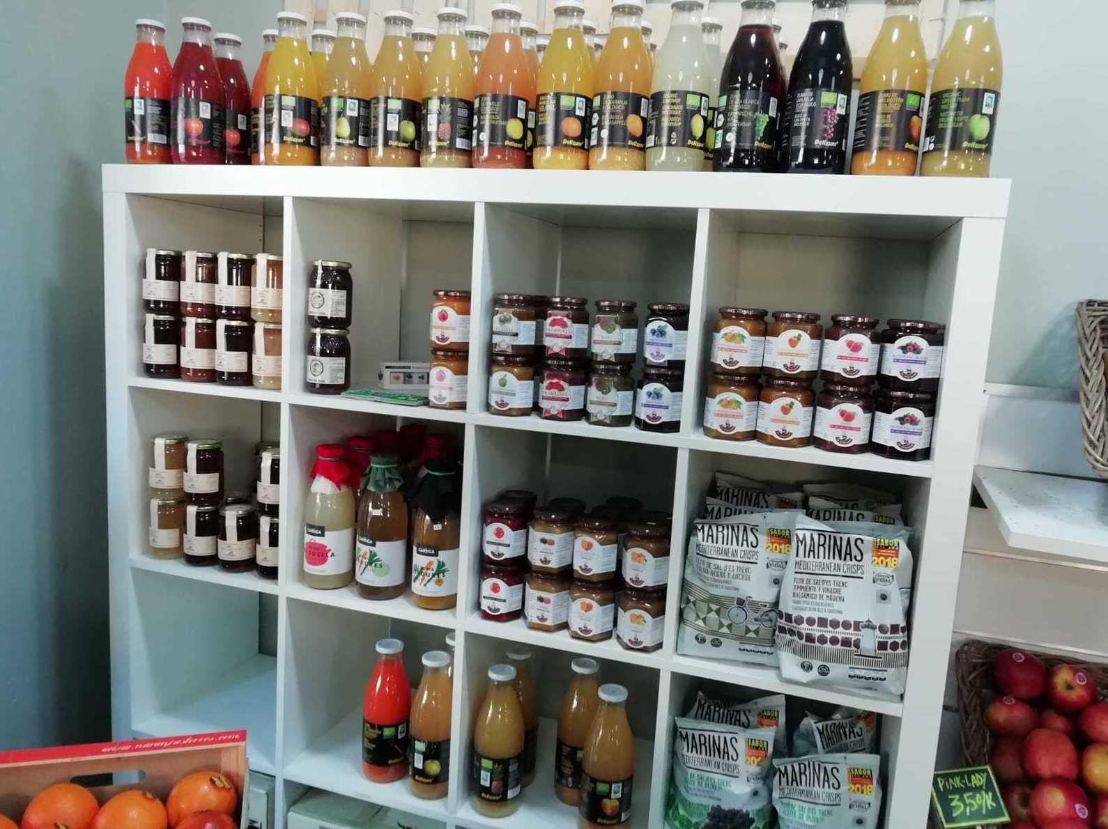 Productos naturales en Sitges