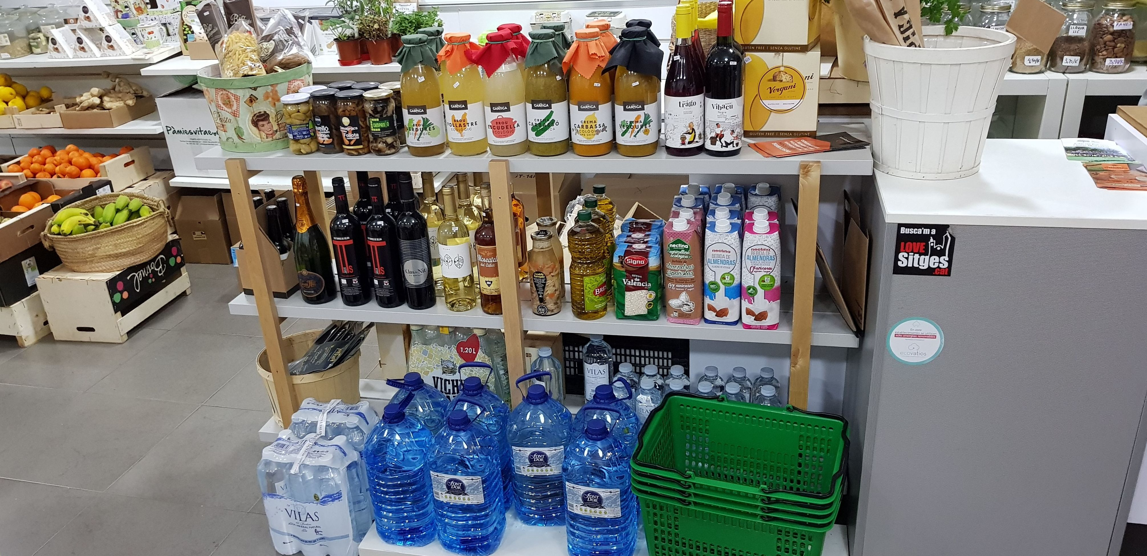 Foto 6 de Tienda de alimentos ecológicos en  | Gust i Colors