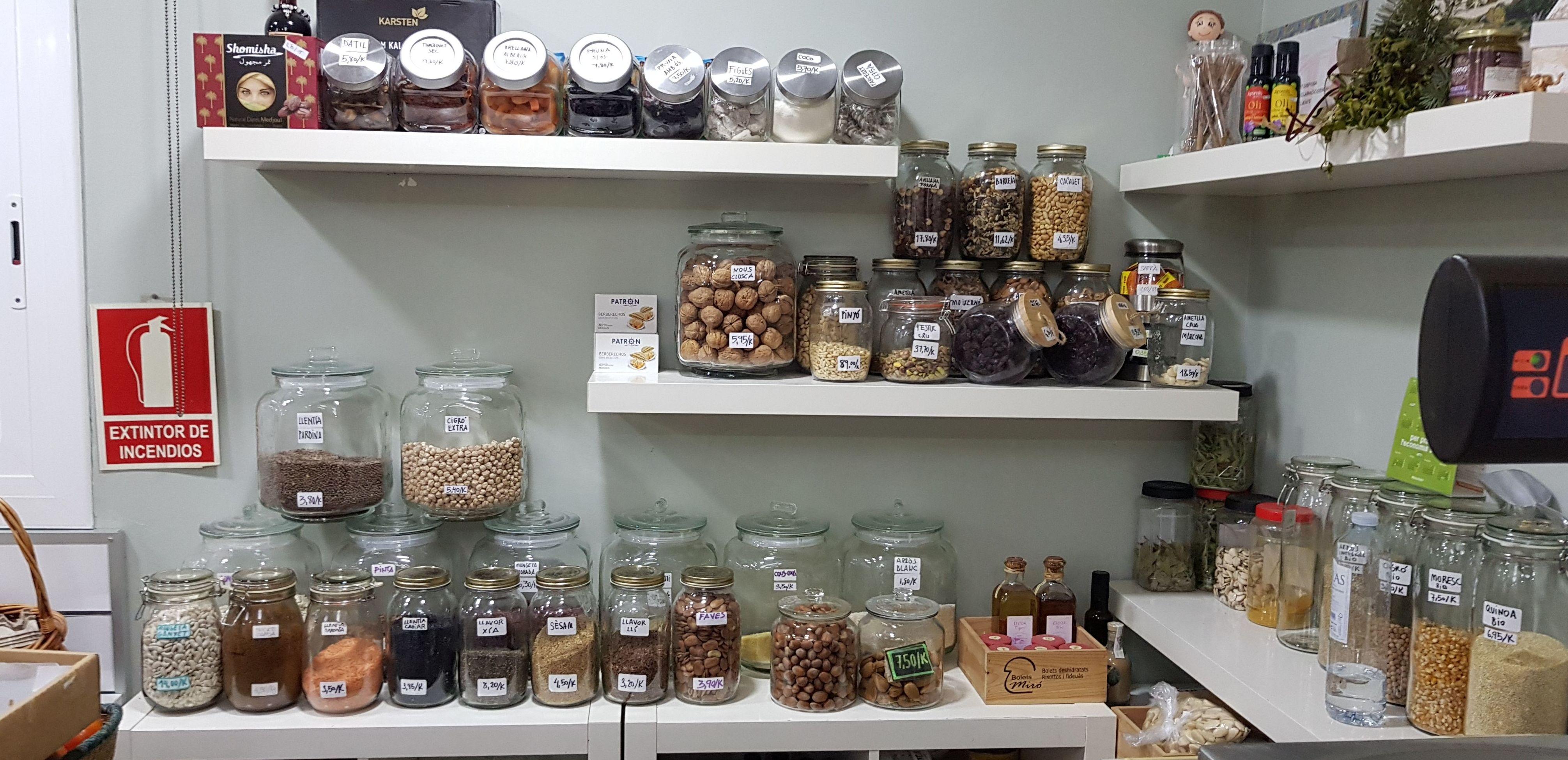 Legumbres, Especias y Frutos Secos a Granel: Productos de Nuestra Tierra de Gust i Colors