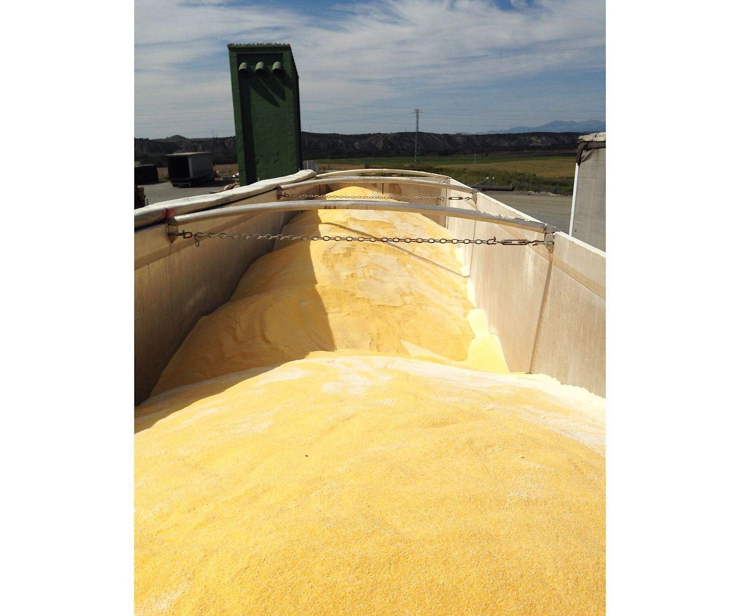 Transporte de cereales Alava