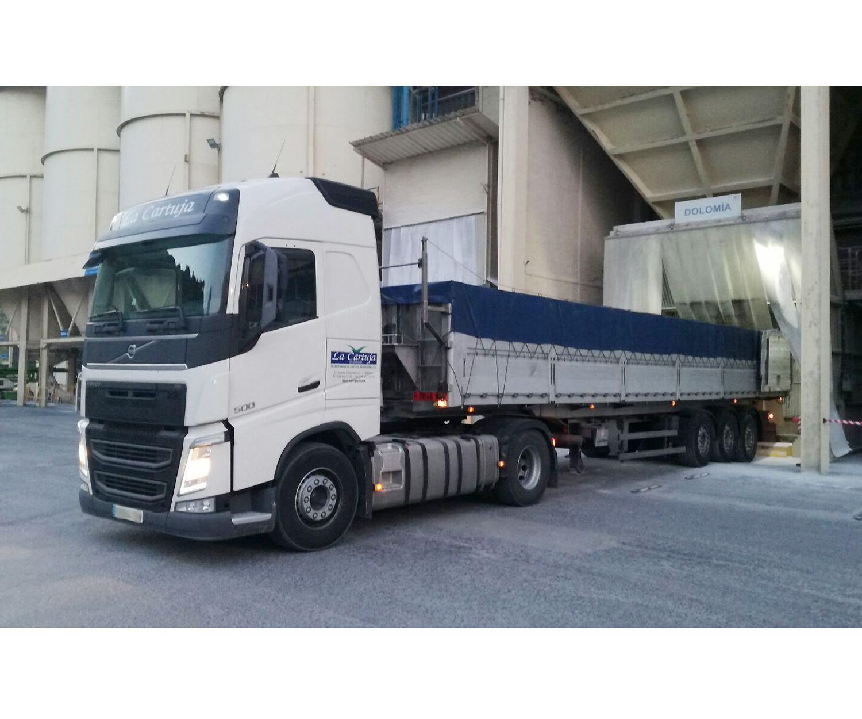 Empresa de transporte de mercancías a granel