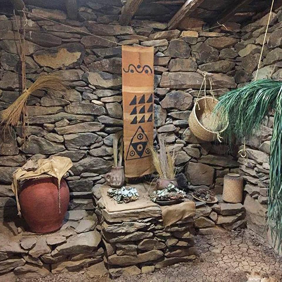 Escenas cotidianas de los antiguos hombres canarios