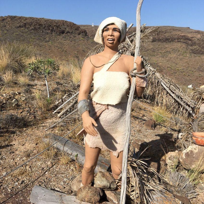 Mujer aborigen de Gran Canaria