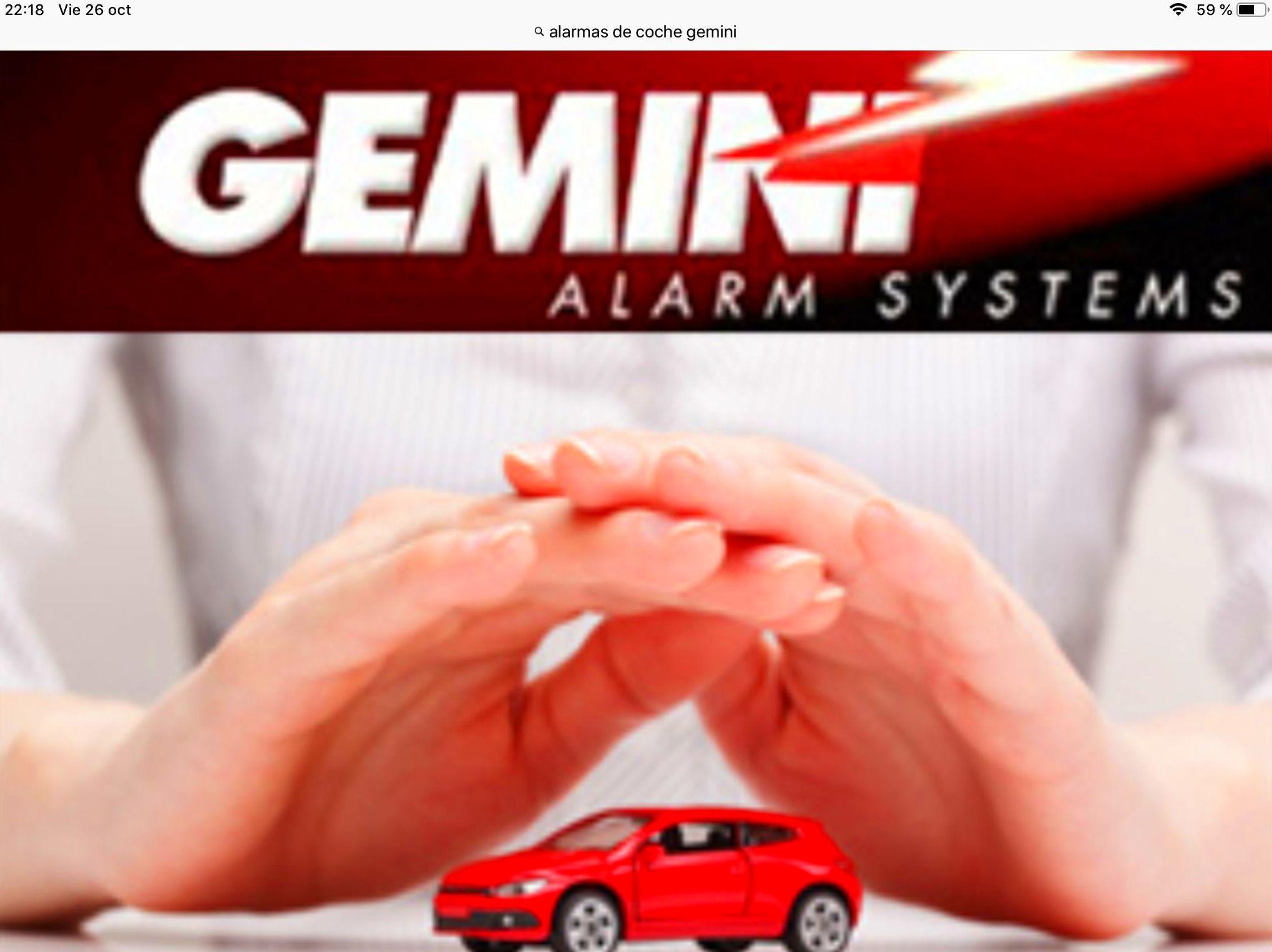 Alarmas de automóviles: Servicios de Radiocar Ferrol, S.L.