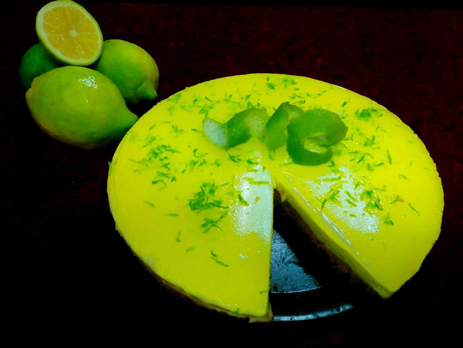 tarta de limón.