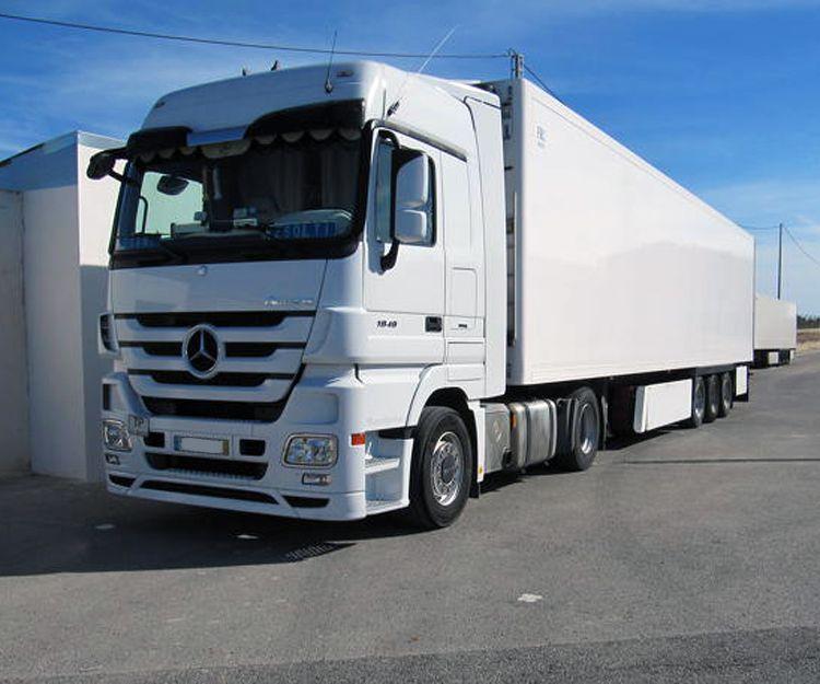 Transporte nacional de mercancías con camiones frigoríficos en Elche