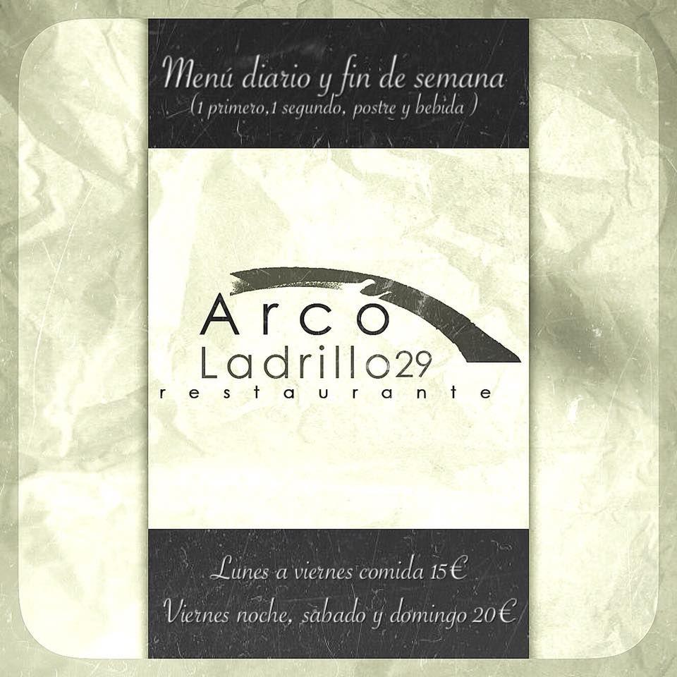 Menús: Servicios de Restaurante Arco Ladrillo 29