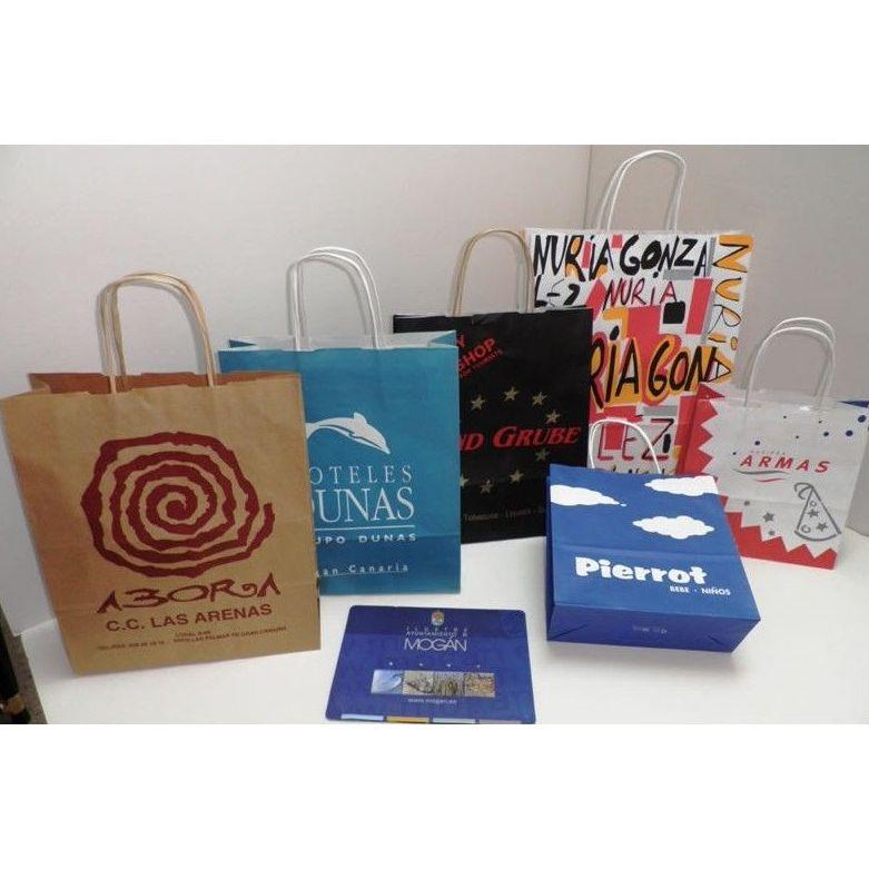 Bolsas de lujo y automáticas: Servicios de Gráficas La Sabika