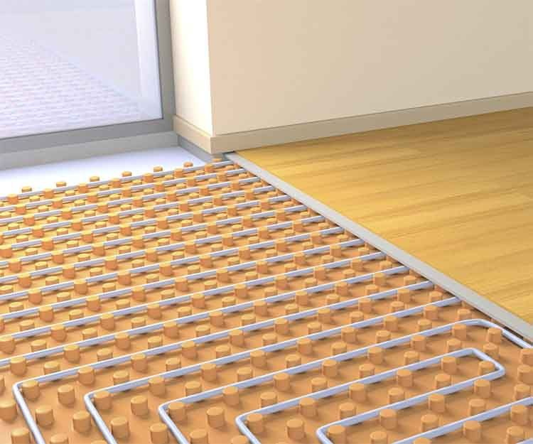 Instalación de suelo radiante en Baleares