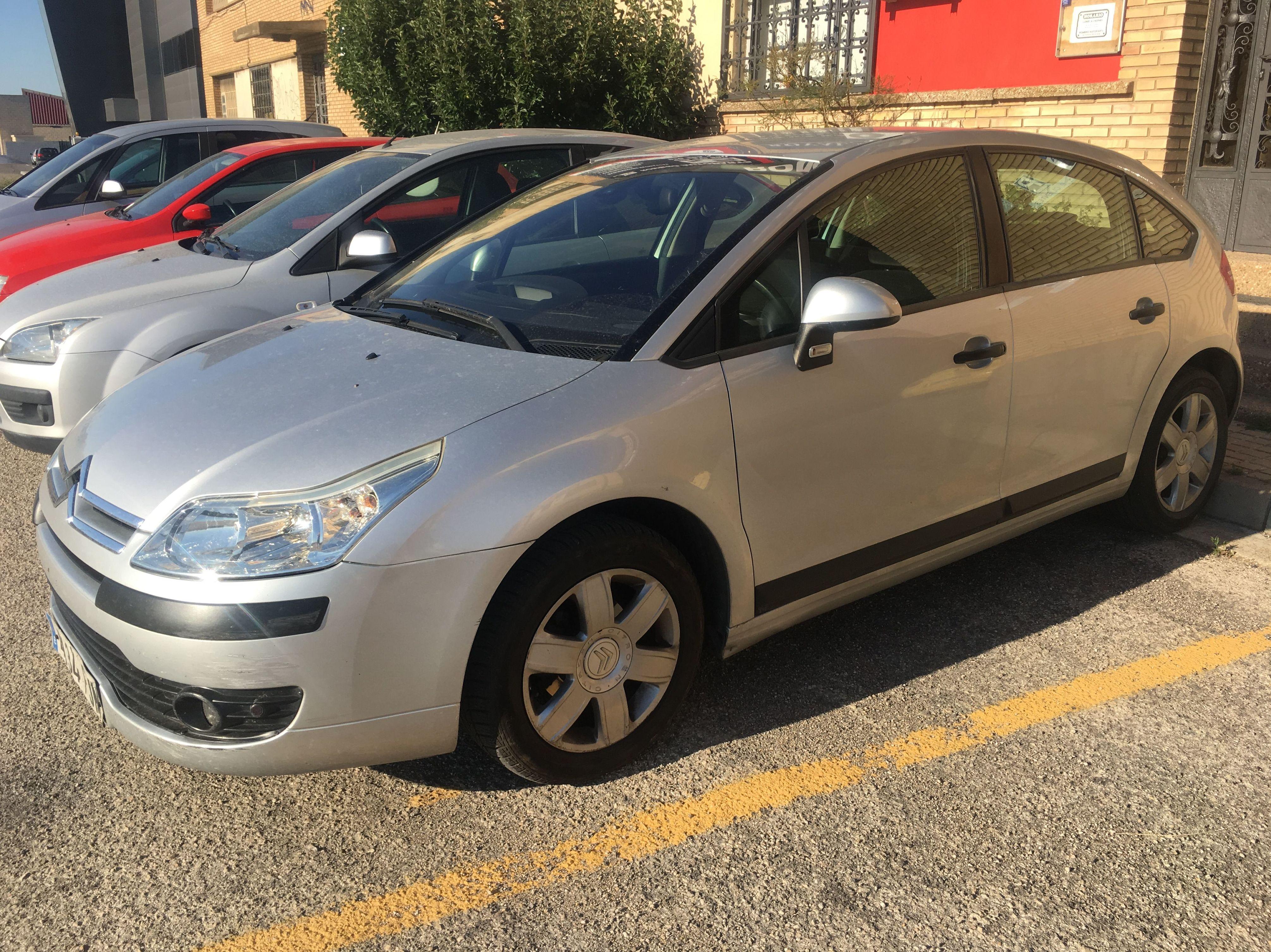 CITROEN C4: Suspensiones y vehículos de Romero Autoparts Zaragoza