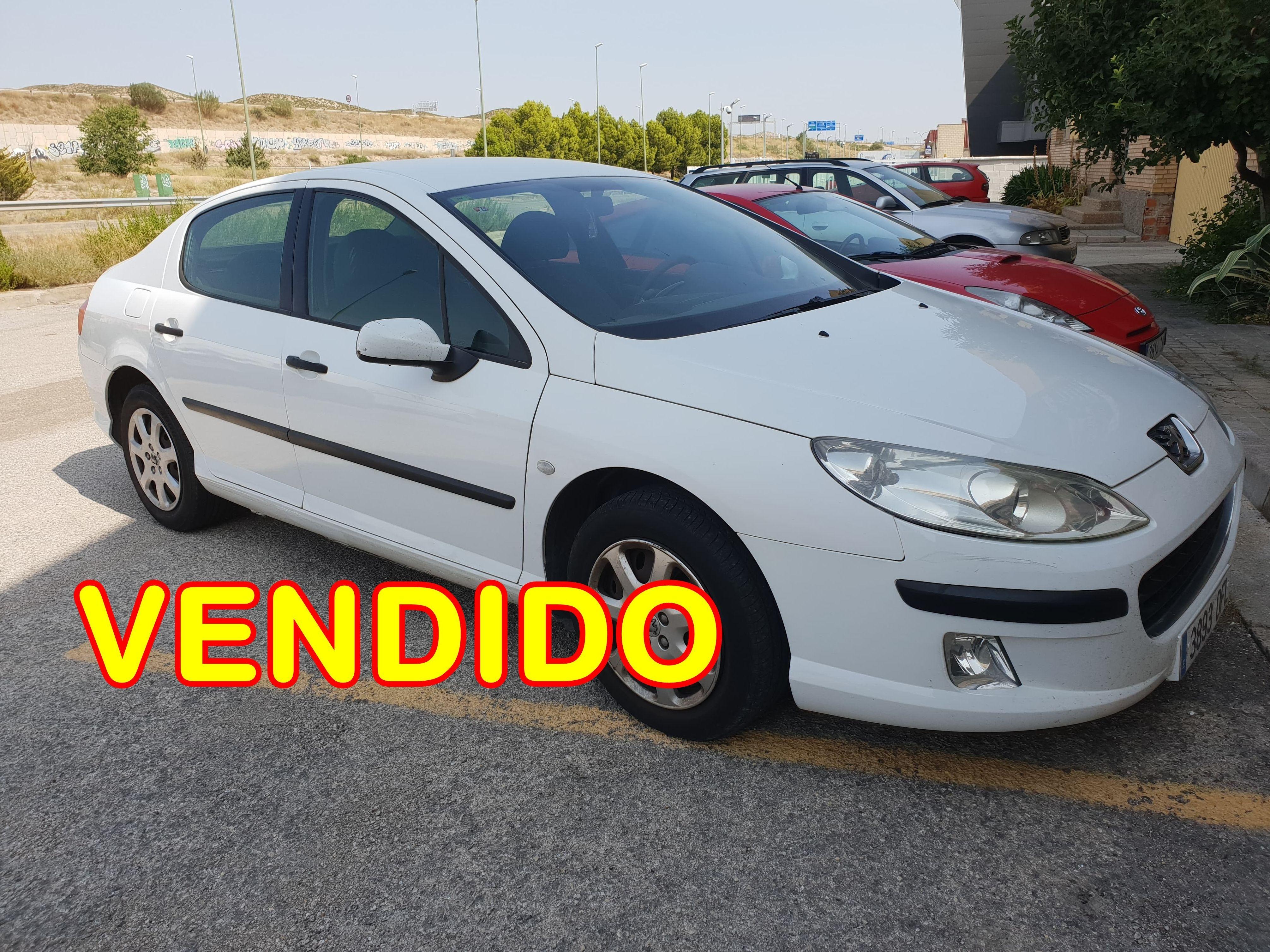 -VENDIDO- PEUGEOT 407  DIESEL : Suspensiones y vehículos de Romero Autoparts Zaragoza