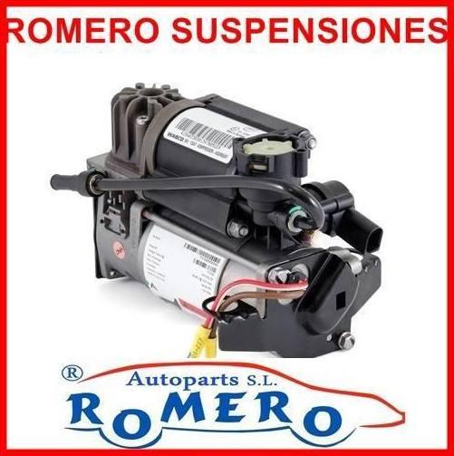 Venta de compresores para suspensiones neumáticas