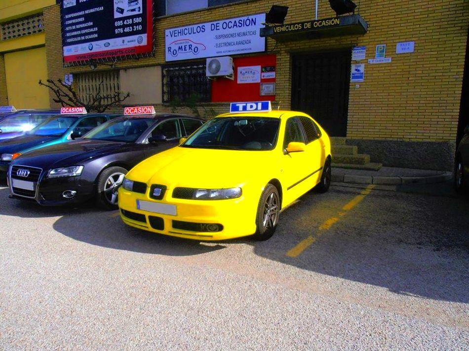 SEAT LEON 150 CV: Suspensiones y vehículos de Romero Autoparts Zaragoza