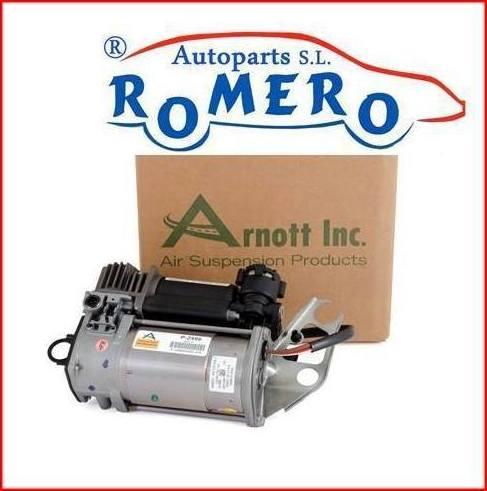 Compresor de la suspensión neumática Porsche Cayenne: Suspensiones y vehículos de Romero Autoparts Zaragoza