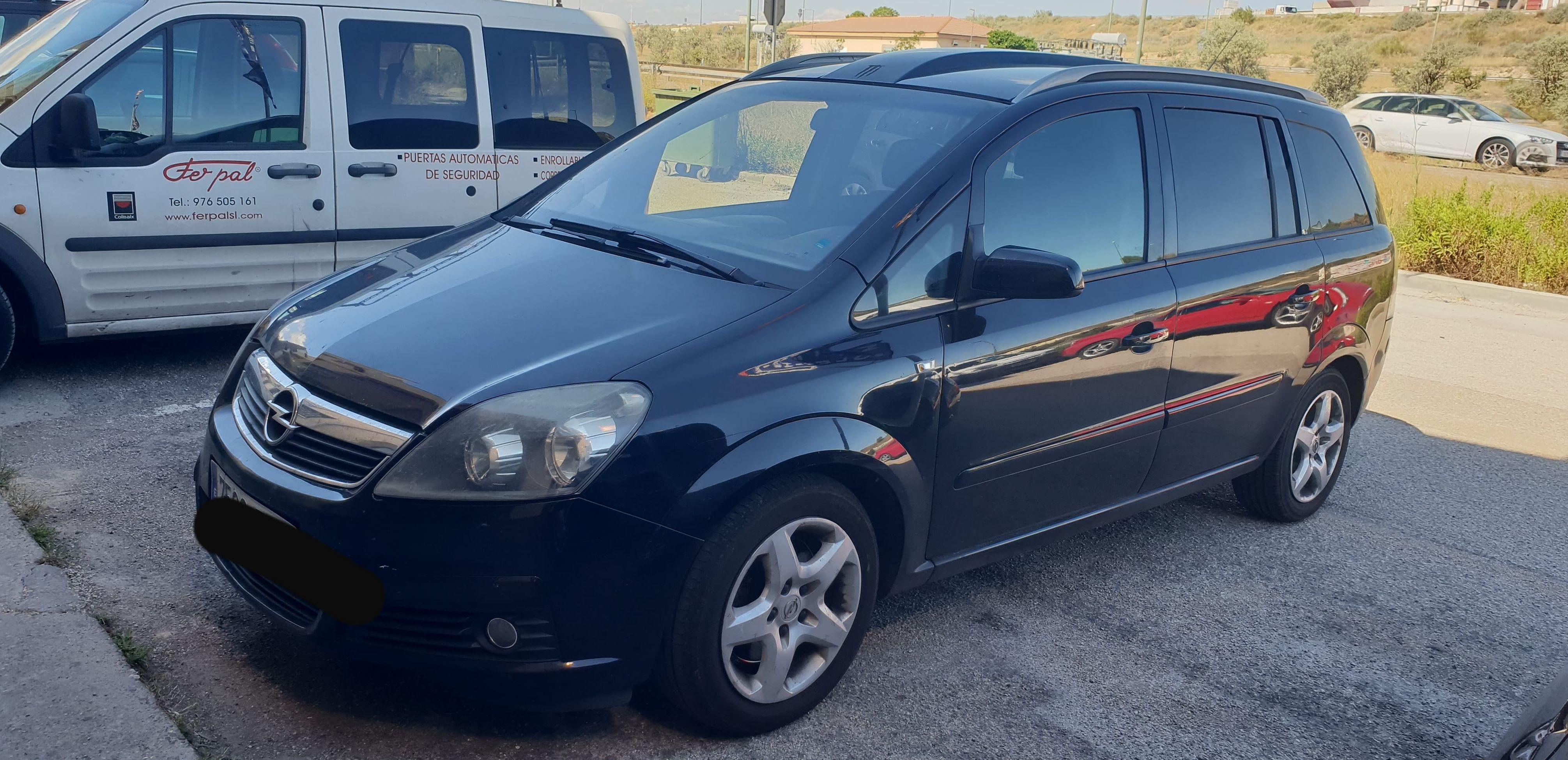 OPEL ZAFIRA 7 PLAZAS : Suspensiones y vehículos de Romero Autoparts Zaragoza