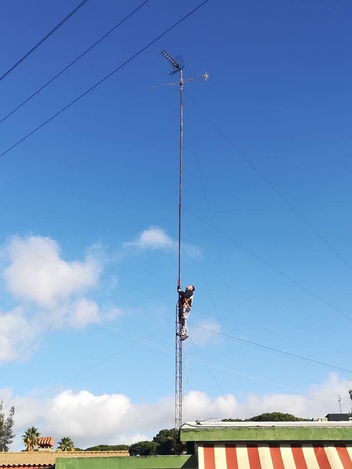 Instalación de antenas de telecomunicaciones en Sevilla