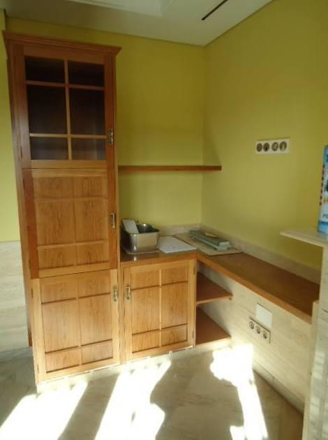 Muebles de comedor en cerezo macizo: Servicios de Carpintería Quiver, S. L.