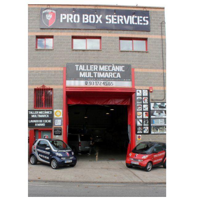 Tintado de lunas: Servicios de Pro Box Services Ripollet