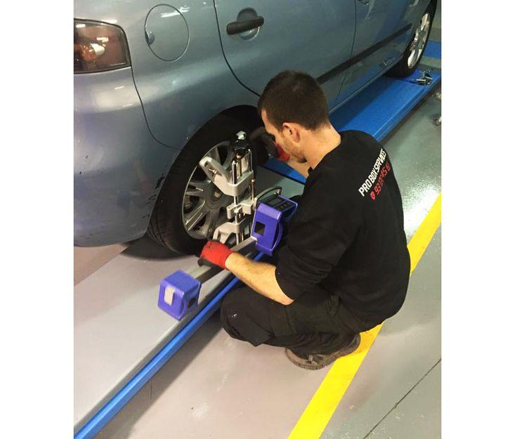 Alineación de neumáticos
