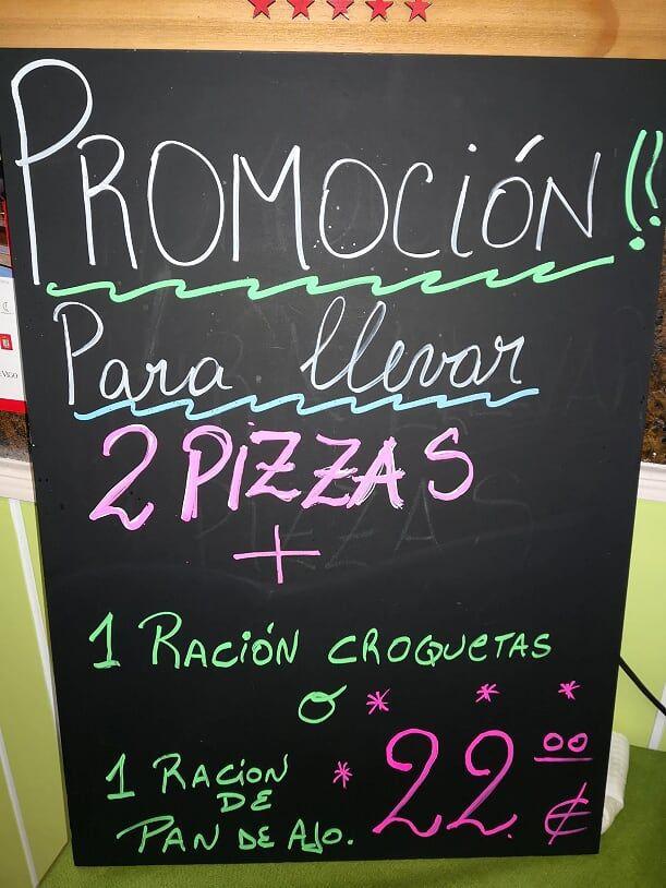 Promoción para llevar La Picadita