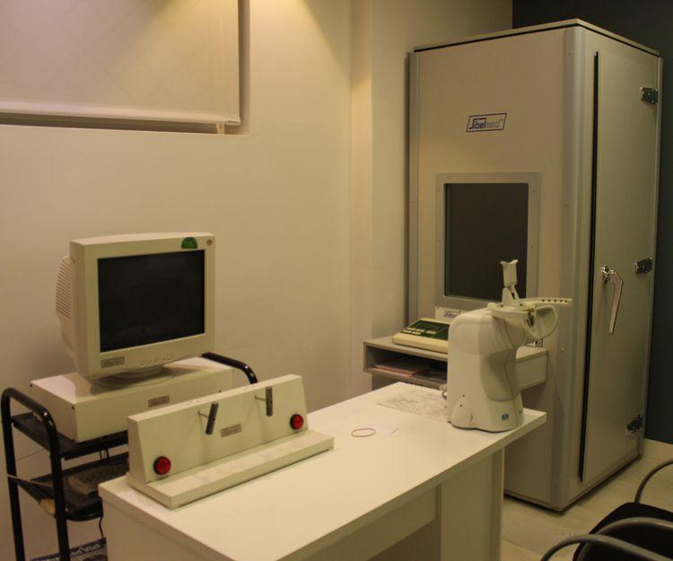 Sala para realizar pruebas para psicotécnicos