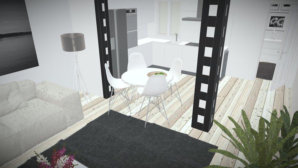 Reforma de piso de una habitación