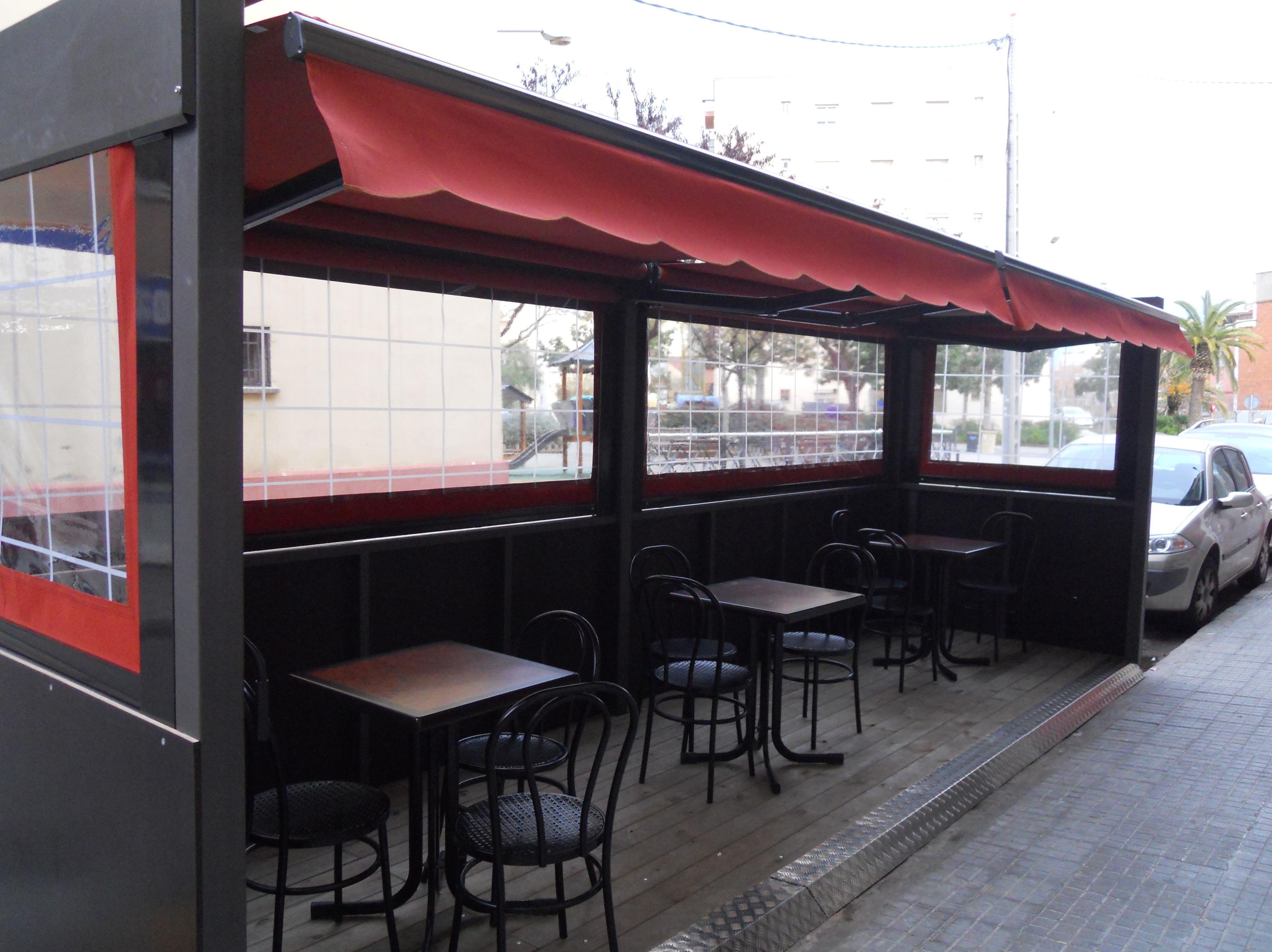 Carpa para terrazas de bares y cafeterías