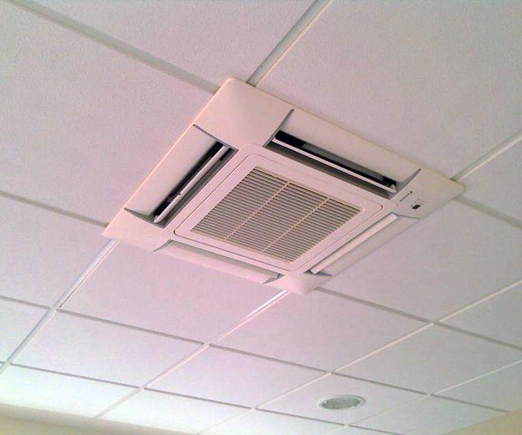 Instalaciones de aire acondicionado tipo casete en Albacete