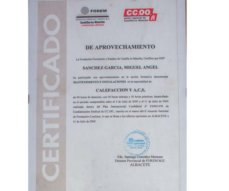Instalación de climatización en Albacete