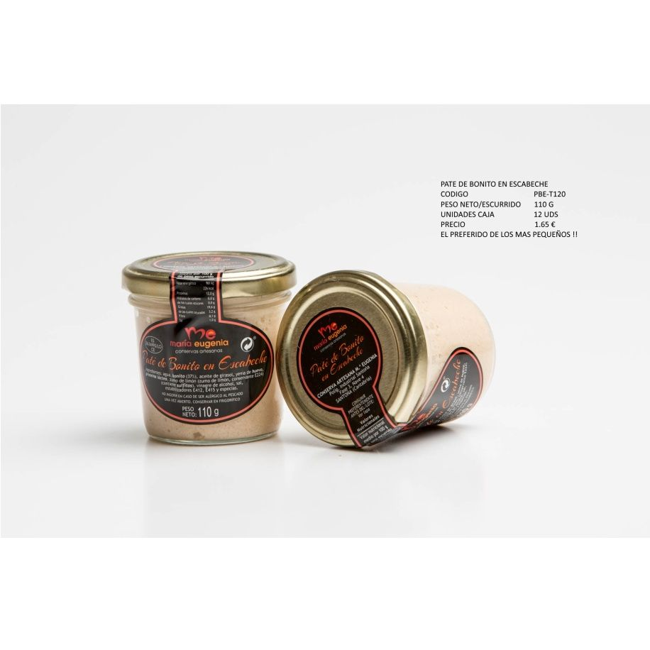 Paté de bonito en escabeche: Productos de Conservas Artesanas María Eugenia