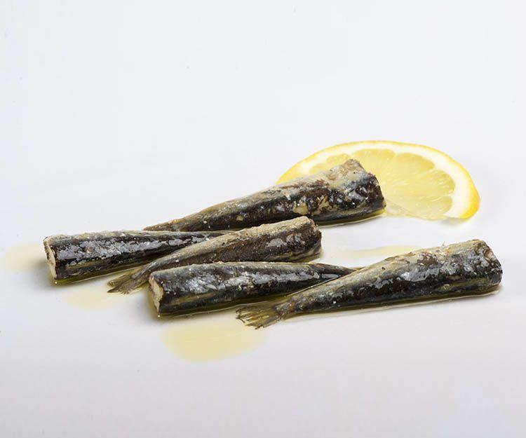 Conservas de sardinillas en aceite