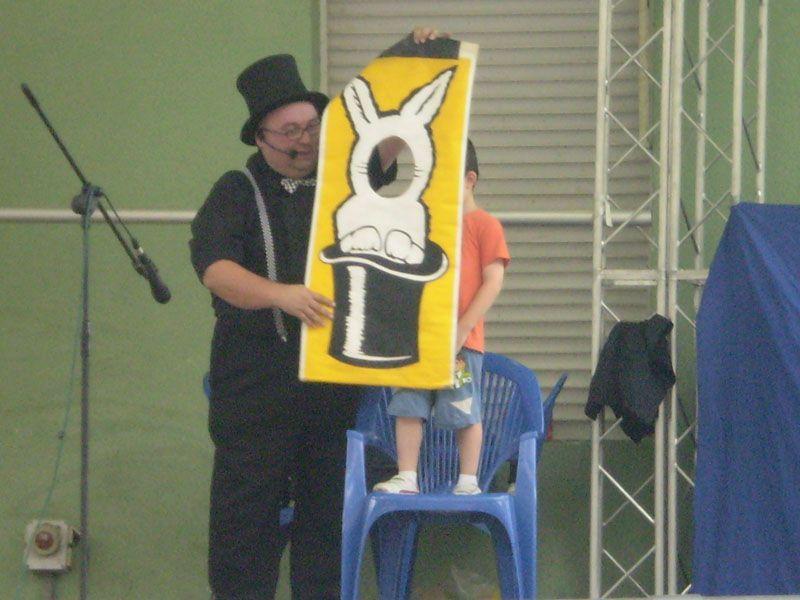 Espectáculos de magia y actuaciones para niños en Alicante