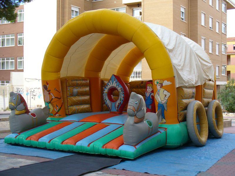 Hinchables para el público infantil en Murcia