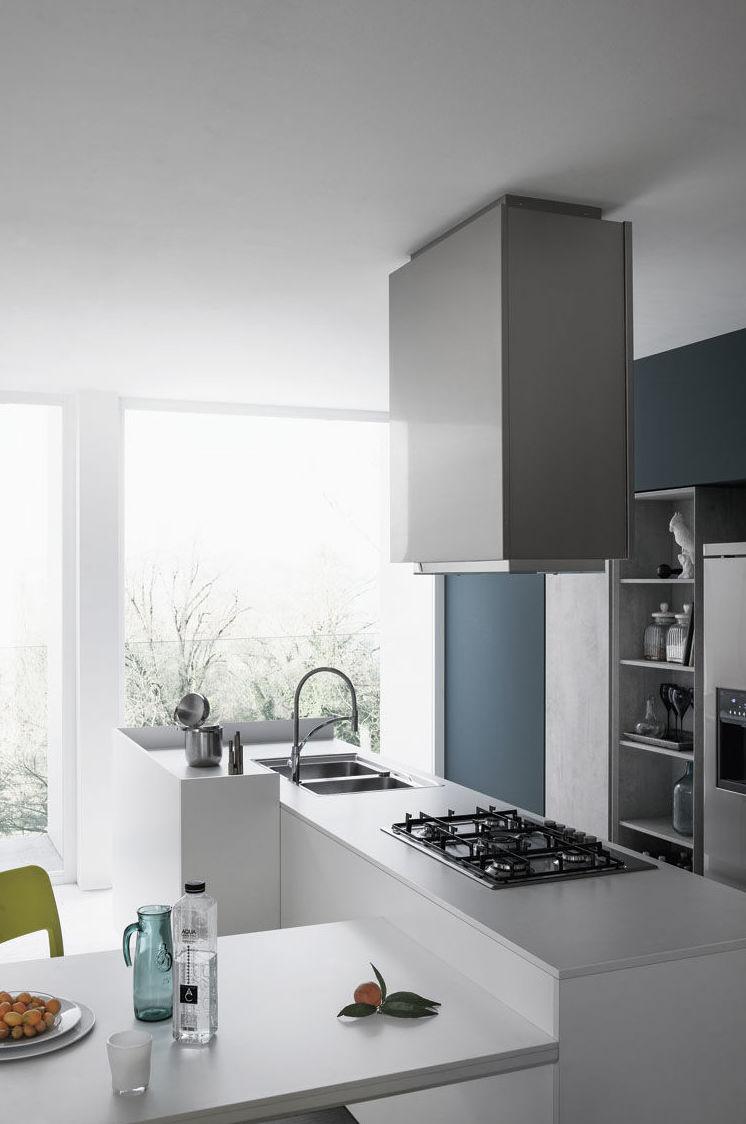 MILA Una cocina con aspecto juvenil, que decora el ambiente de forma cautivante,