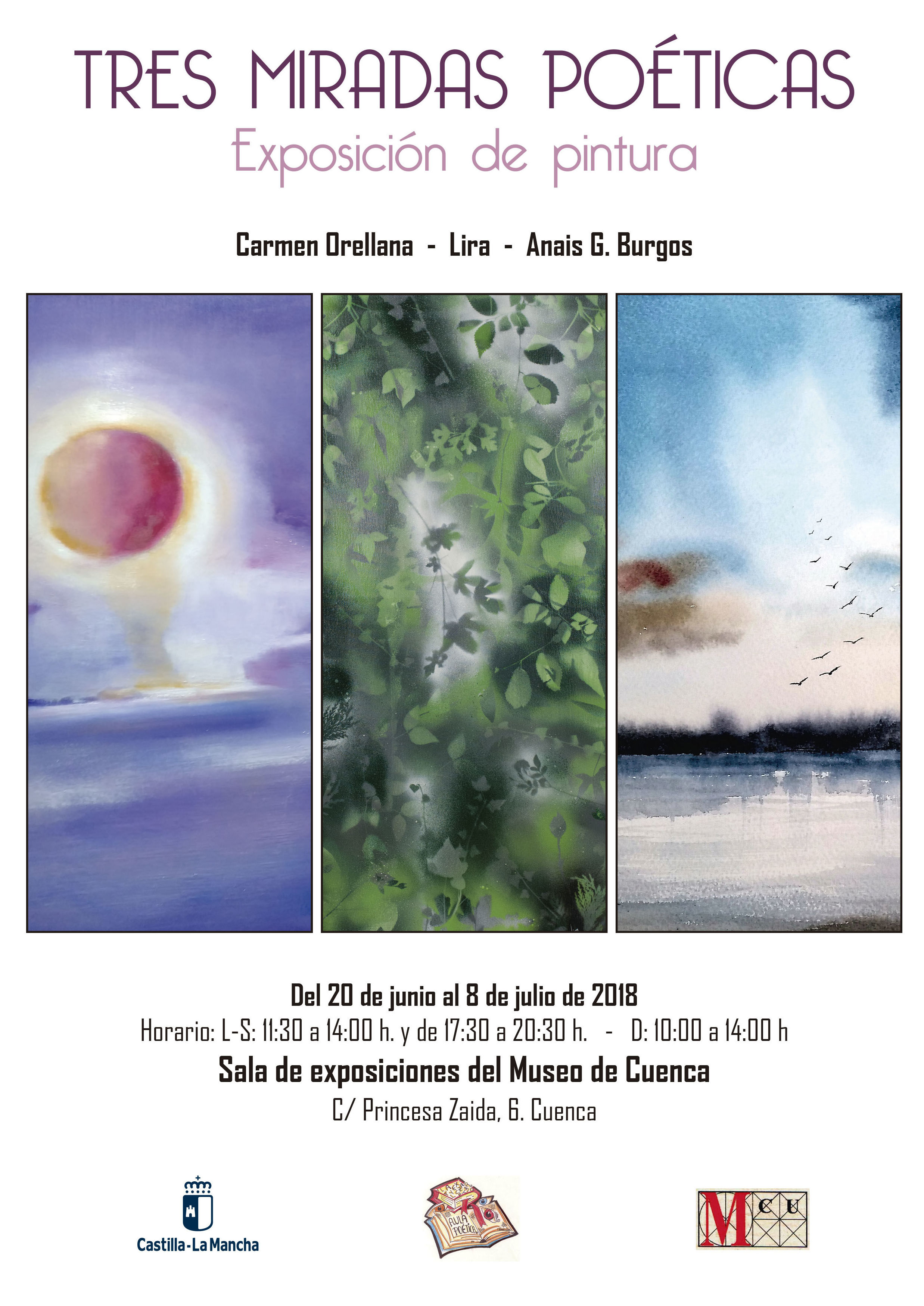 Exposición colectiva de Pintura donde participa Lira