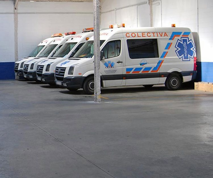 Ambulancias privadas en Huelva