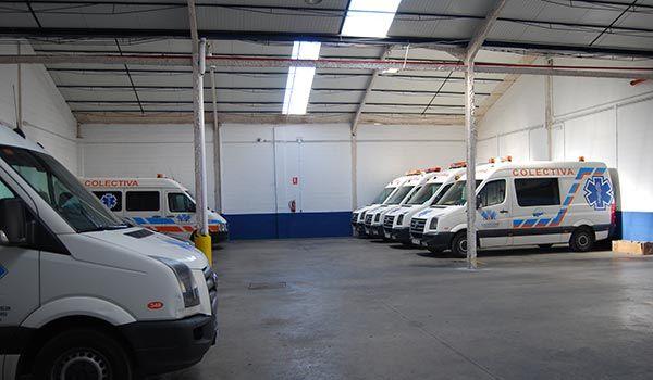 Flota: Servicios de Ambulancias La Cinta
