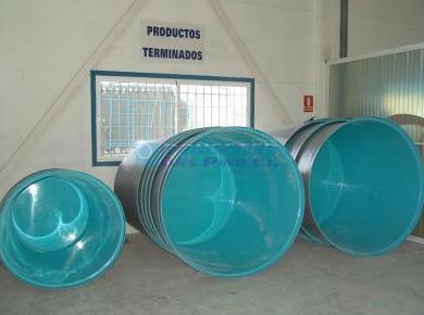 Fabricados de poliéster reforzado con fibra de vidrio
