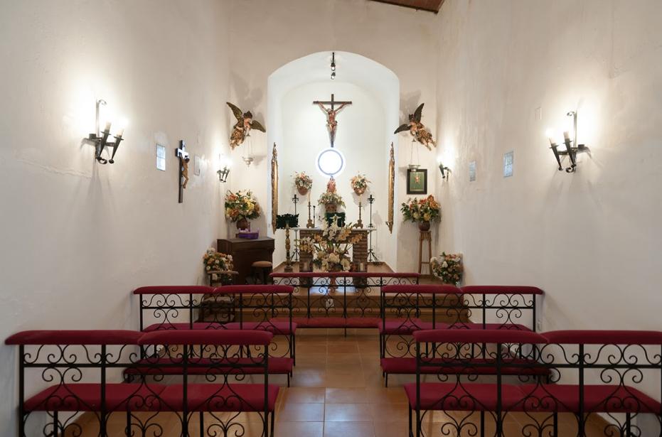 Capilla para ceremonias en haciendas y fincas en Sevilla