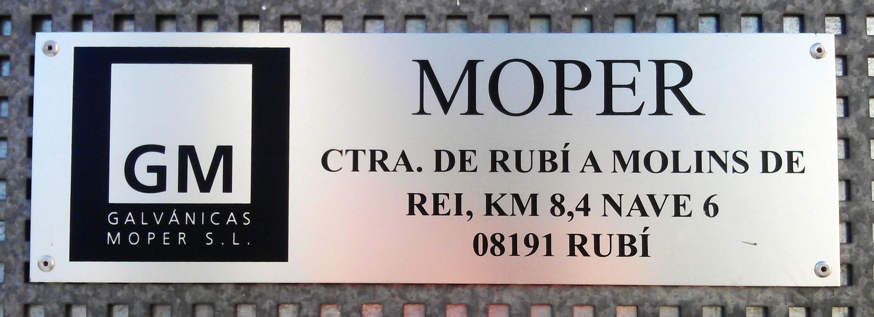 Galvánicas Moper SL